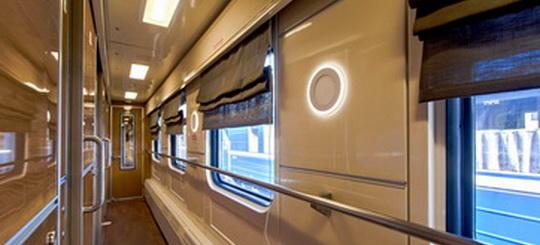 Элементы интерьера <br />пассажирского вагона